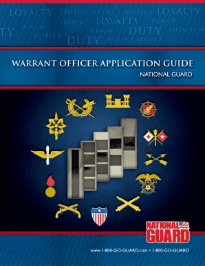 fillable warrant officer packet fill online printable fillable rh pdffiller com Army Warrant Officer Navy Warrant Officer