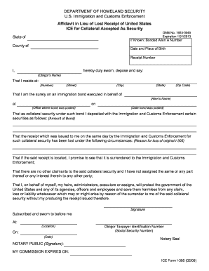 oci affidavit in lieu of originals pdf