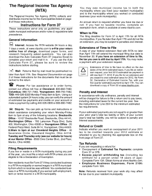 Rita Form 17 - Fill Online, Printable, Fillable, Blank | PDFfiller