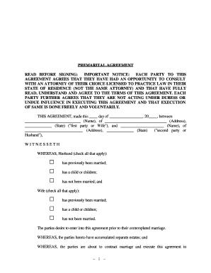 Bill Of Sale Form Texas Prenuptial Agreement Sample