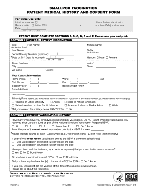 Consent form medical templates fillable printable for Vaccination consent form template