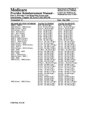 Hcfa 2552 96 - Fill Online, Printable, Fillable, Blank | PDFfiller