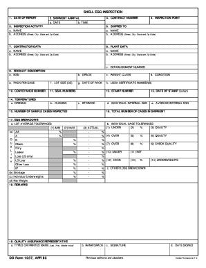 Dd Form 1237 - Fill Online, Printable, Fillable, Blank | PDFfiller