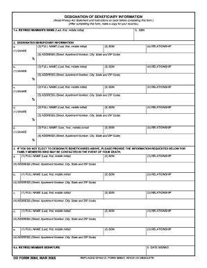 Dd 2894 - Fill Online, Printable, Fillable, Blank | PDFfiller