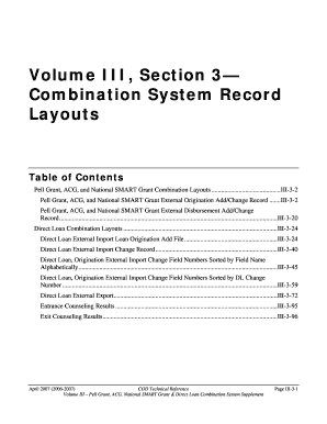 Volume III, Section 3 Combination System Record  - FSAdownload - fsadownload ed