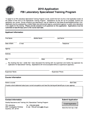 Fbi Applicant Form - Fill Online, Printable, Fillable, Blank ...