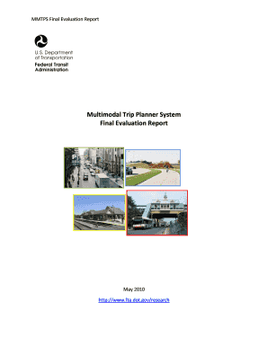 Multimodal Trip Planner System Final Evaluation Report (May - fta dot