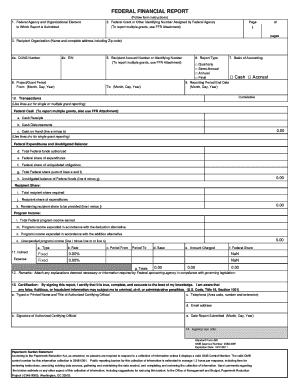 Sf 425 Form - Fill Online, Printable, Fillable, Blank | PDFfiller