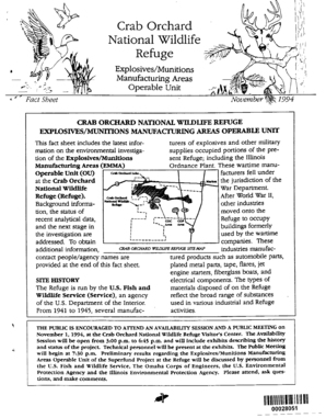 AM Fact Sheet Novemberlk 1994 - U.S. Fish and Wildlife Service - fws