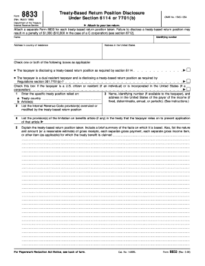 Irs form 8833 fillable 1996
