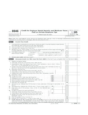 Irs Form 8846 Instructions Line 5 For 2012 - Fill Online ...