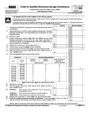 Form 8880 2010 fill online printable fillable blank pdffiller form 8880 2010 ibookread ePUb