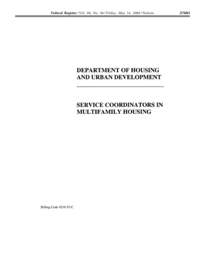 Service Coordinators in Multifamily - archives hud