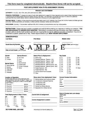 Fillable Online med navy DD Form 2900 (Sample overlay), Post ...