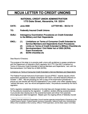ncoer letter of continuity regulation - Fill, Print