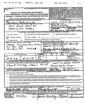 Form I 134 Sample