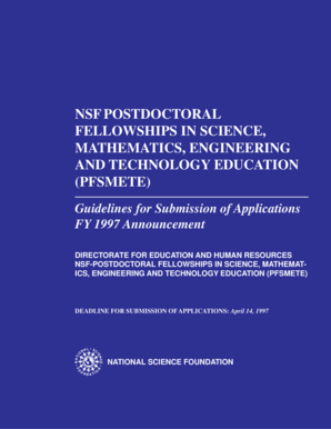 Fillable Online nsf NSF9742 pm6(to pdf) - National Science