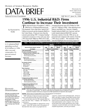 Industrial R&D Firms - nsf