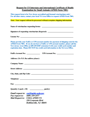 Aphis Form 7001 Electronically Fillable - Fill Online, Printable ...
