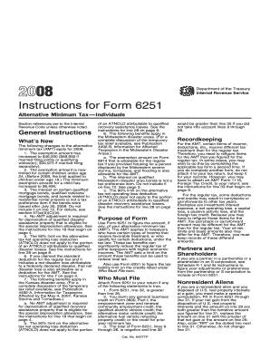 2010 form 6251 fill online, printable, fillable, blank | pdffiller.