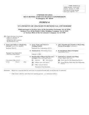 Sec Form 4 >> Sec Form 4 Explained Fill Online Printable Fillable Blank