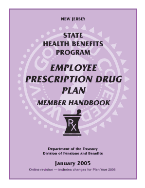 EMPLOYEE PRESCRIPTION DRUG PLAN - State of New Jersey - state nj