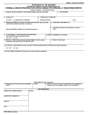 Form ttb f515019 fill online printable fillable blank for Motor carrier identification report mcs 150