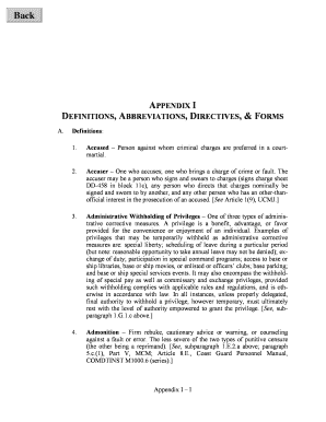criminal charges definitions - Editable, Fillable