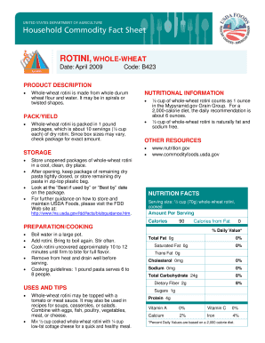 Online Fillable Nutrition Facts Label Fill Online Printable Fillable Blank Pdffiller