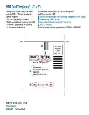 brm card template form