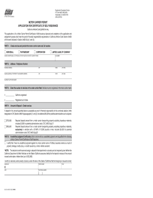 Dmv 130mcp certificate fill online printable fillable for Motor carrier permit california