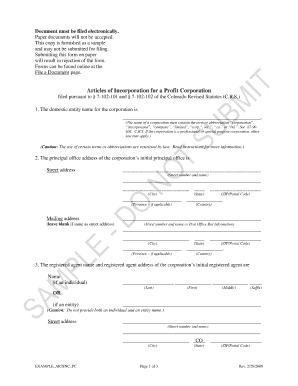 Nys articles of incorporation form s corp fillable