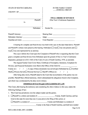 Divorce Paper Form Scca 40005 Srl Div How Do You Fill It Out ...