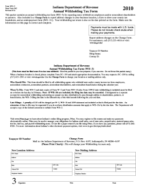 Indiana Tax Forms Templates - Fillable & Printable Samples for PDF ...