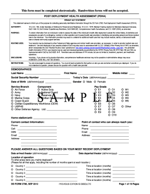 Dd Form 2796 Fillable - Fill Online, Printable, Fillable, Blank ...