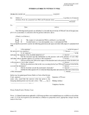 Bill Of Sale Form Georgia Last Will And Testament Form Templates ...