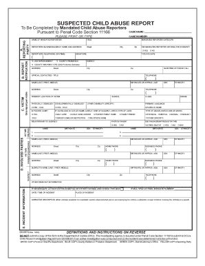 Fillable Online Mandated Reporter FORM SS 8572.pdf - The Child ...