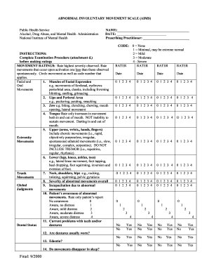 Extrapyramidal symptom rating scale pdf pages