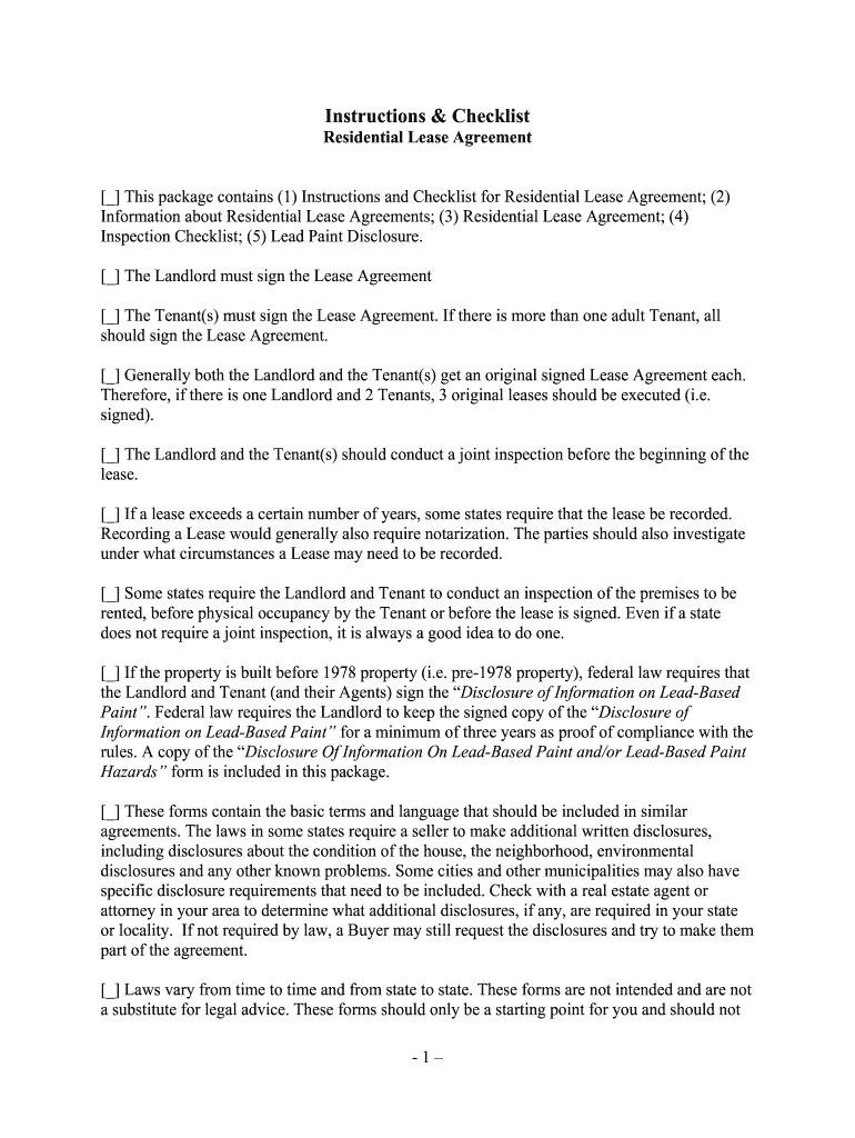 Standard Rental Agreement Fillable Massachusetts Fill