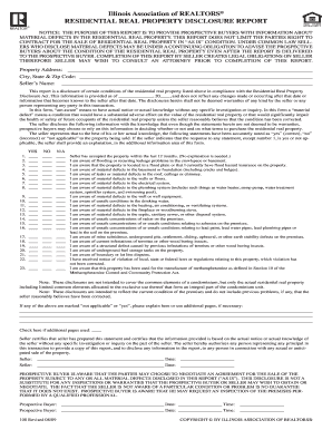 Illinois Form Disclosure - Fill Online, Printable, Fillable, Blank ...