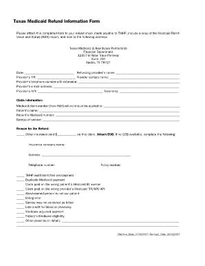 photo regarding Medicaid Application Texas Printable identify Texas Medicaid Refund Articles Type - Fill On line