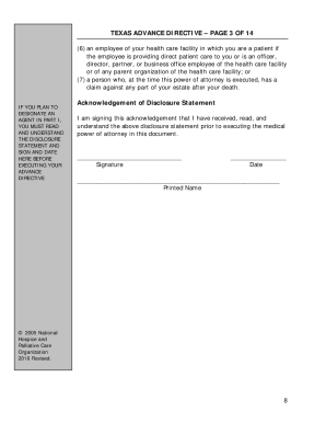 Bill of sale form texas medical power of attorney form for Advanced directive template