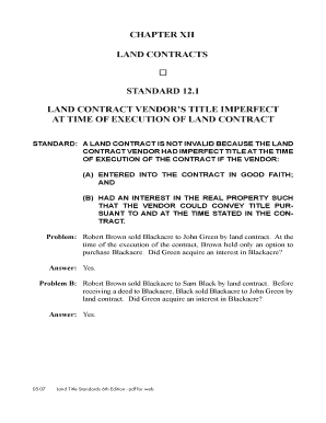 state bar of michigan form for land contract