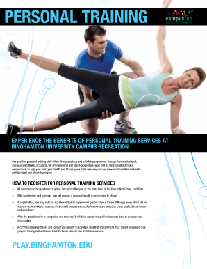 fitness consultation forms pdf