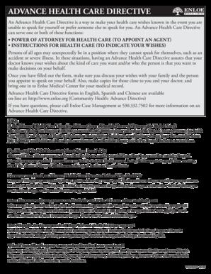 advance health directive qld pdf