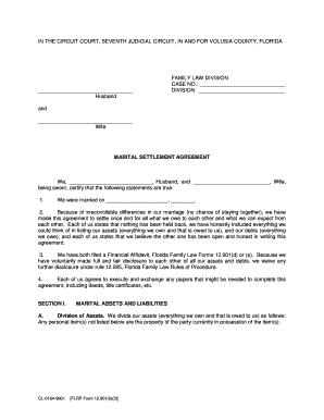 9 Printable Marital Settlement Agreement California Forms