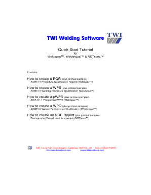 Ndt Aws D11 Wabo Pdf - Fill Online, Printable, Fillable