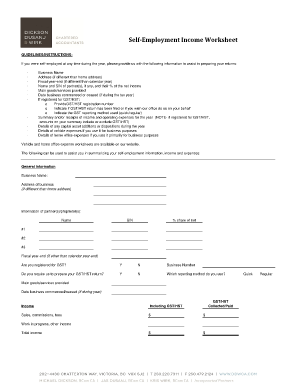 Printables Self Employment Worksheet self employment worksheet form fill online printable fillable related content employed worksheet