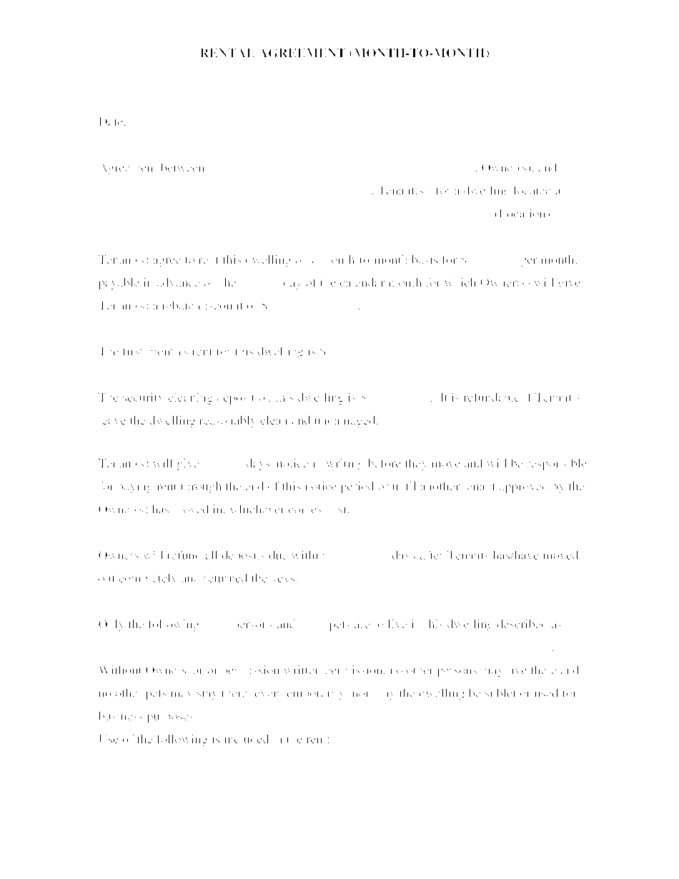 cold storage agreement template