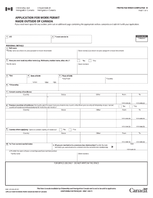 canada imm application  2014  form